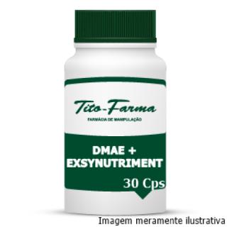 DMAE + Exsynutriment - Retarda o Envelhecimento Precoce (150mg + 300mg - 30 Cps) | Tito Farma