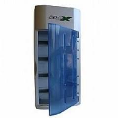 Carregador p/ Pilhas (AA, AAA, C, D, 9V) FX-C06 FLEX