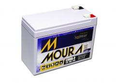 Bateria Selada 12V 9Ah VRLA MOURA
