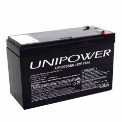 Bateria Selada 12V 7Ah UP1270SEG VRLA UNIPOWER