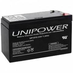 Bateria Selada 12V 7,2Ah UP1272 VRLA UNIPOWER