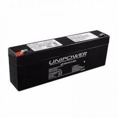 Bateria Selada 12V 2,3Ah UP1223 VRLA UNIPOWER
