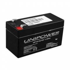 Bateria Selada 12V 1,3Ah UP1213 VRLA UNIPOWER
