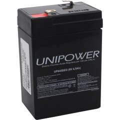 Bateria Selada 6V 4,5Ah UP645 SEG VRLA UNIPOWER