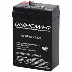 Bateria Selada 6V 2,8Ah UP628 VRLA UNIPOWER