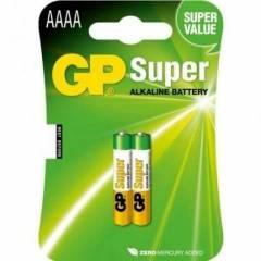 Pilha AAAA Alcalina GP Blister c/ 2un.