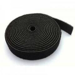 Abraçadeira de Velcro Multiuso Preto 20mm rolo c/2,5m Dupla Face SPEEDLAN