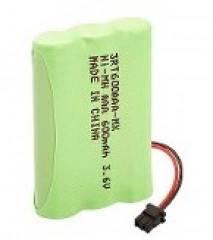 Bateria p/ Telefone s/ Fio 3,6V 600mAh 3xAAA RONTEK