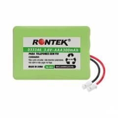 Bateria p/ Telefone s/ Fio 3,6V 300mAh 3xAAA RONTEK