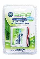 Bateria p/ Telefone s/ Fio 3,6V 1000mAh BP1000 (BAP-700) BAP