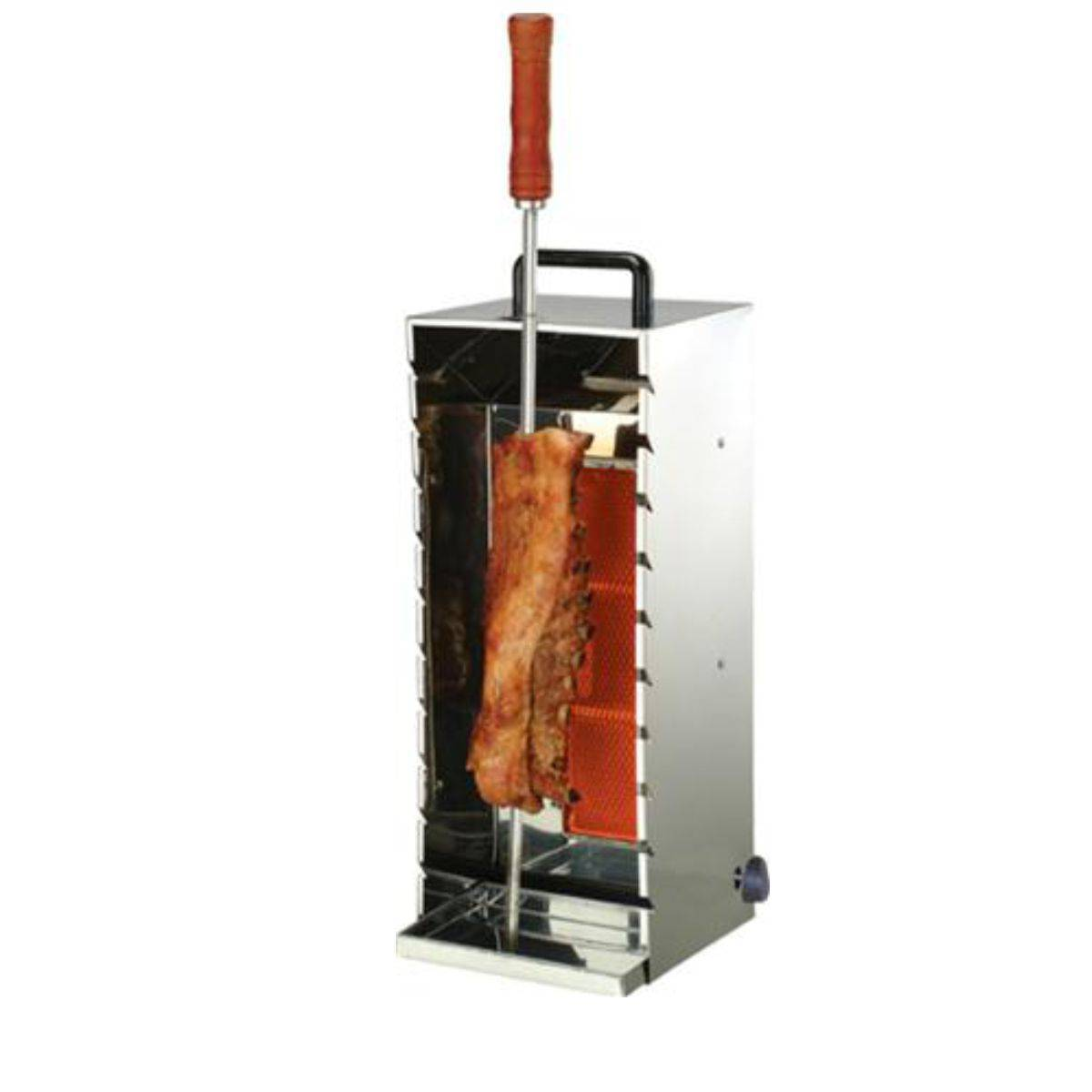 Churrasquito a Gás Inox para 10 Espetinhos PR-199N Progás