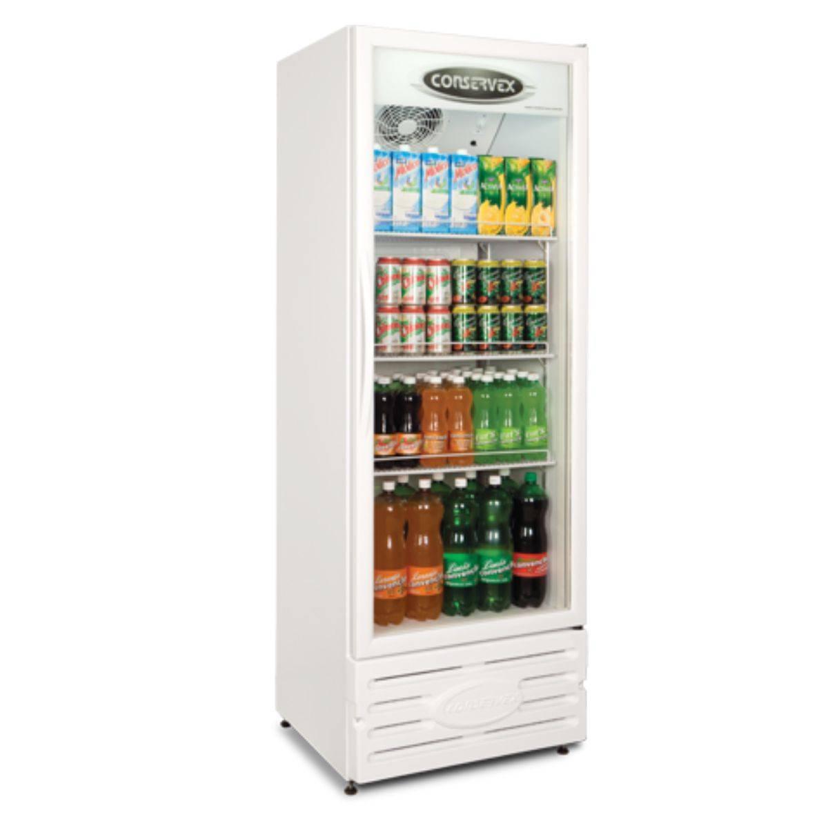 Expositor Refrigerado Vertical Visa Cooler 400L ERV-400 Cons