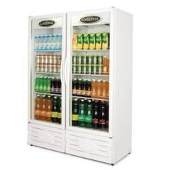 Expositor Refrigerado Vertical Visa Cooler 2 Portas 850L  ERV-850 Conservex