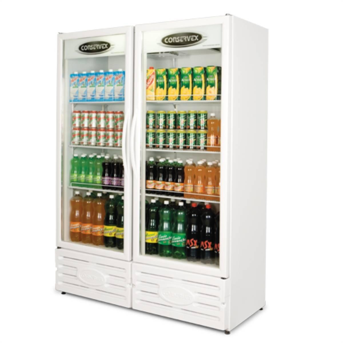 Expositor Refrigerado Vertical Visa Cooler 850l Conservex