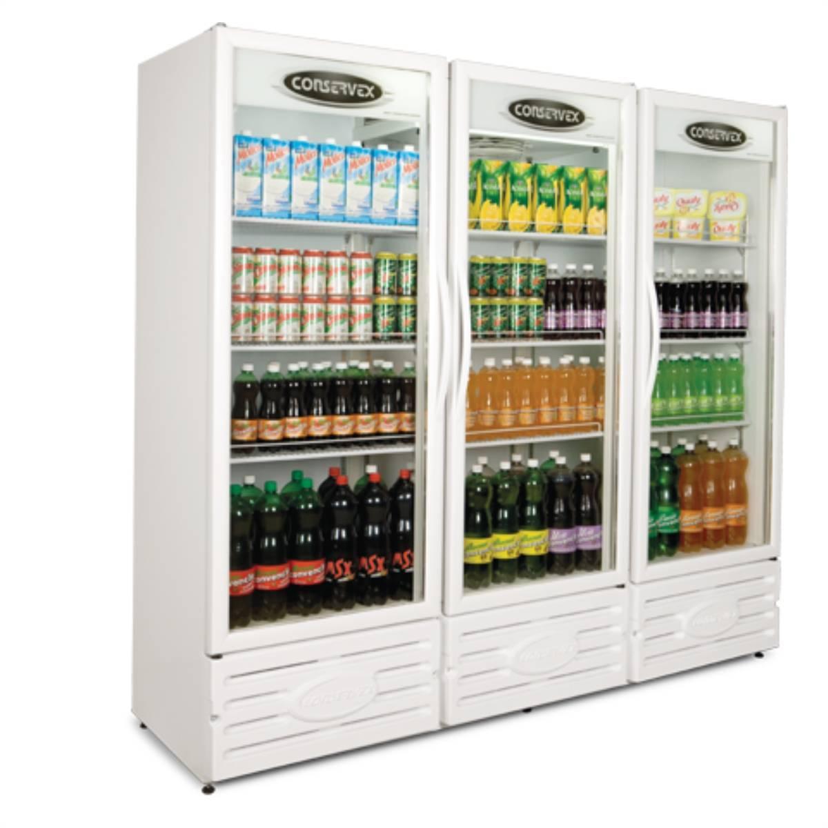 Expositor Refrigerado Vertical Visa Cooler 1300L Conservex