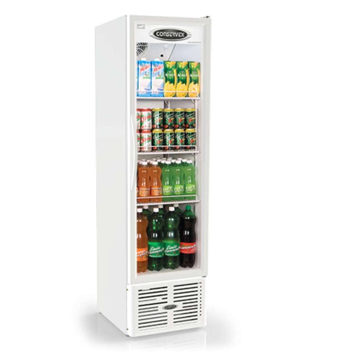 Expositor Refrigerado Vertical Visa Cooler 250L ERV-250 Cons