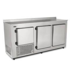 Balcão de Encosto Refrigerado 2,00m Inox BRE-200 Conservex