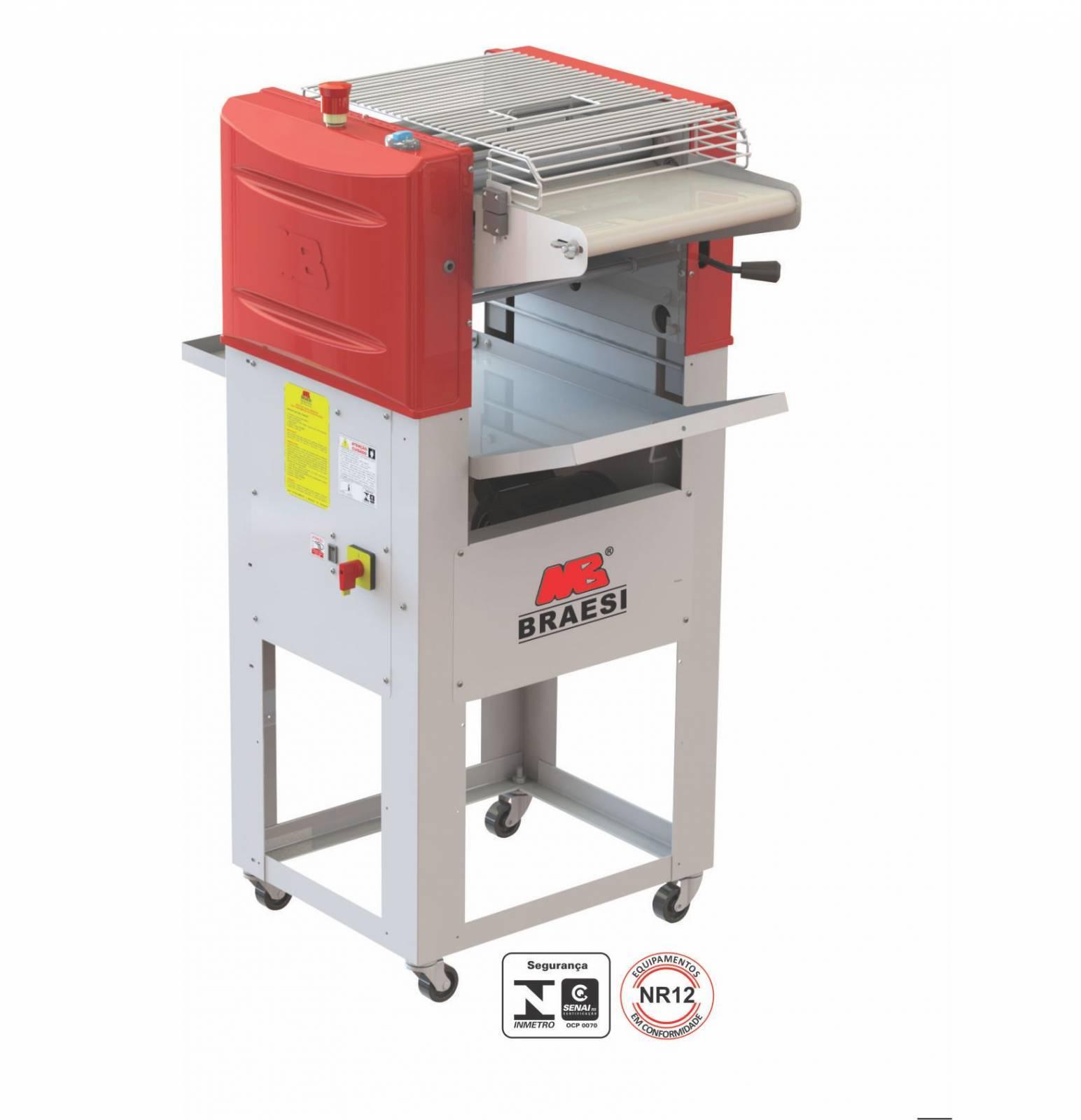 Modeladora de Pães Industrial 350mm com Pedestal Bivolt MB-3
