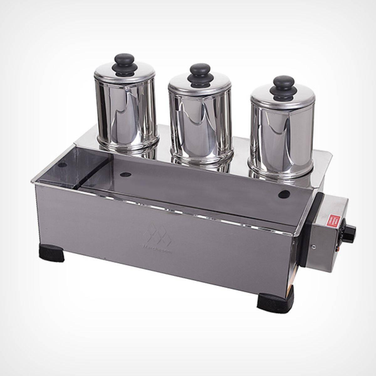 Esterilizador 3 Bules com Termostato ES.1.391/392 Marchesoni