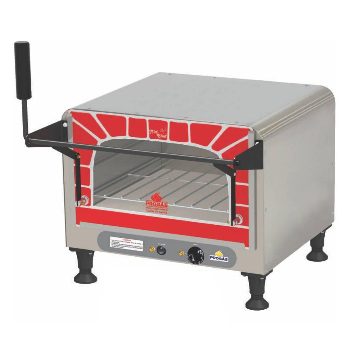 Forno Refratário Elétrico 40 Litros Mini Chef PRPE400 Progás