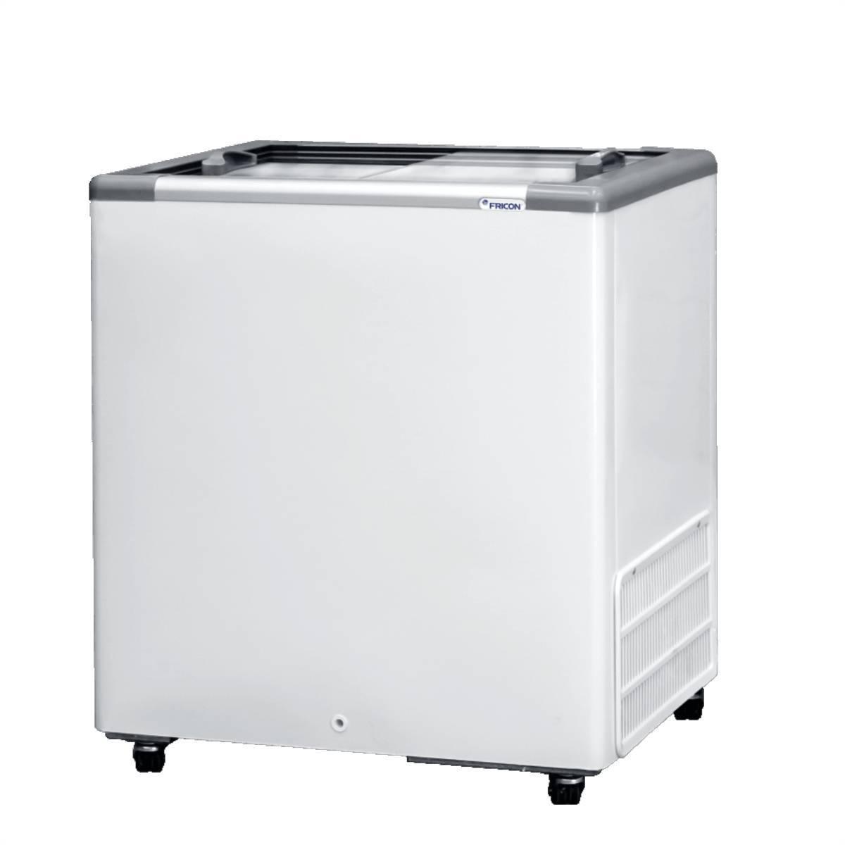 Freezer Horizontal 216L Tampa de Vidro HCEB216 Fricon