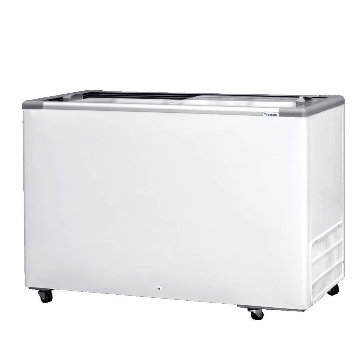Freezer Horizontal 411L Tampa de Vidro HCEB411 Fricon