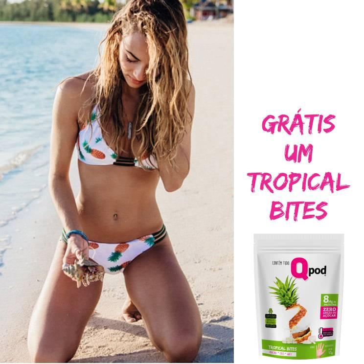 Combo Bikini Exclusivo + 01 un. Tropical Bites