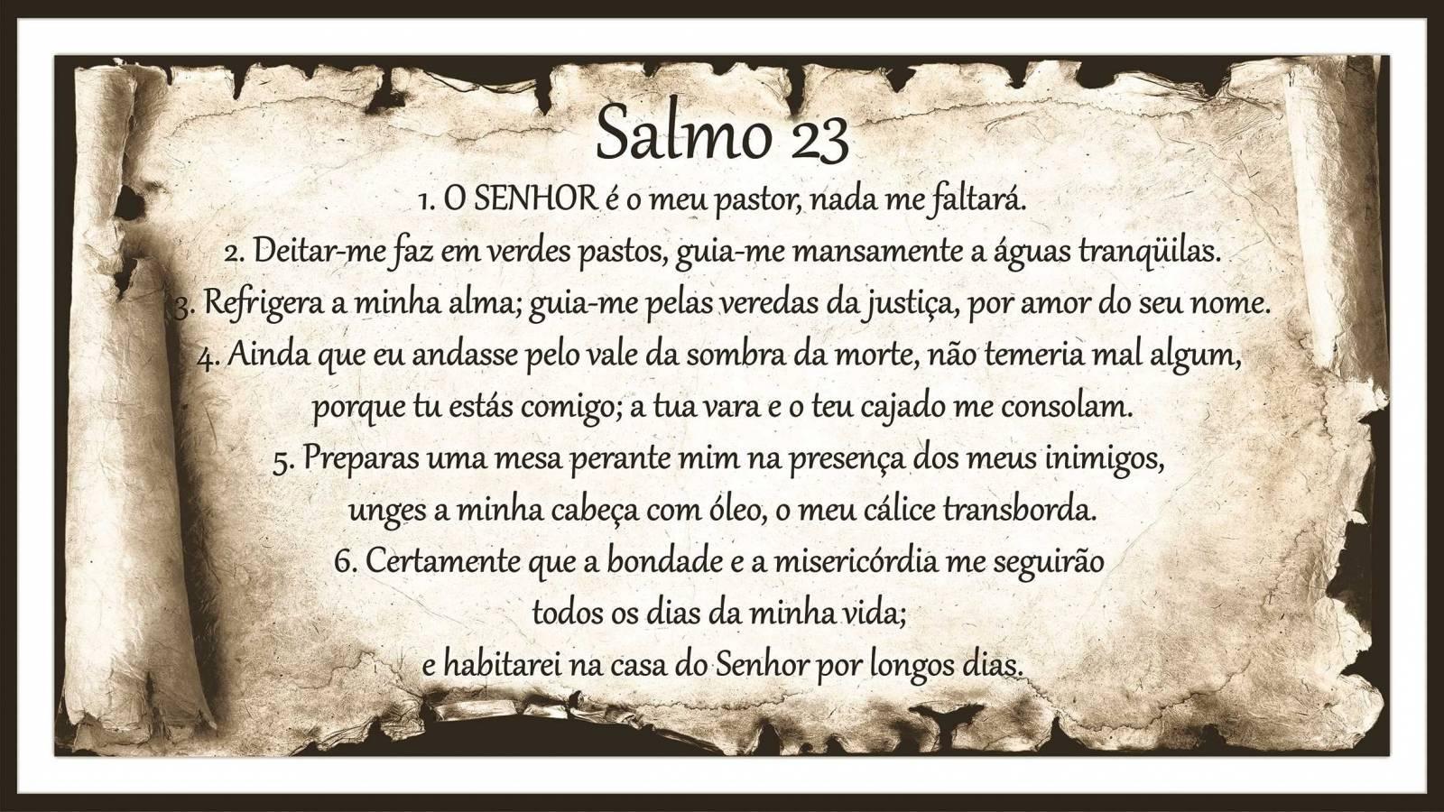 Salmo 23 Pergaminho