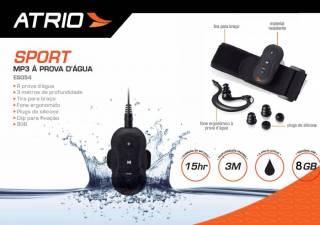 MP3 Atrio Aquatico 8GB | BIKE ALLA CARTE