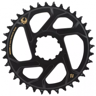 Coroa Sram Xx1 Eagle X-sync Direct Mount Offset 6mm 36d Gold | BIKE ALLA CARTE