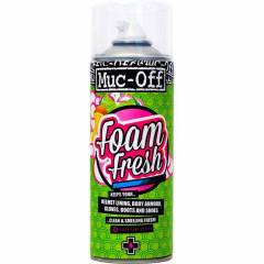 Muc-Off Foam Fresh Spray Espuma Limpa Capacetes e Acessórios