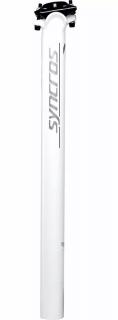 Canote de Selim Syncros Fl 1.5 Zero Alumínio 31.6x400mm - Branco | BIKE ALLA CARTE