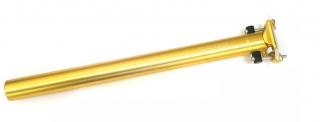 Canote de Selim Wg Sports 31.6x400mm Dourado | BIKE ALLA CARTE