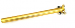 Canote de Selim Wg Sports 31.6x400mm Dourado