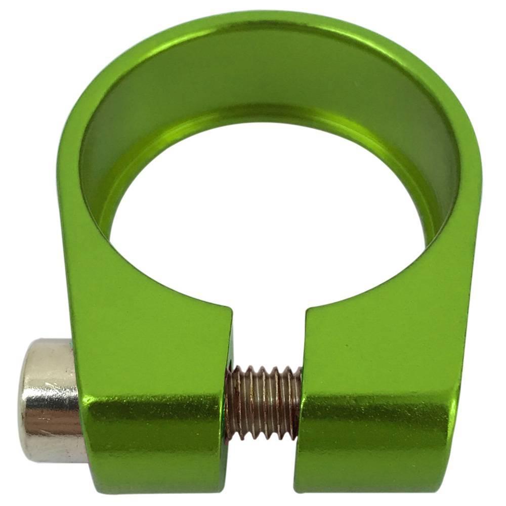Braçadeira de Selim Cly 31.8mm Verde
