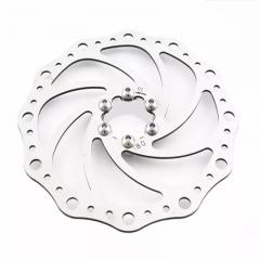 Disco Rotor Absolute 180mm Freio Mec Hidr Mtb Xc Bike 6F