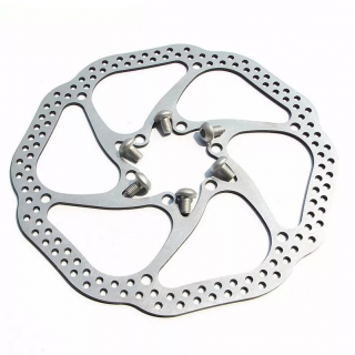 Disco Rotor Absolute 160mm Freio Mec Hidr Mtb Xc Bike 6F | BIKE ALLA CARTE