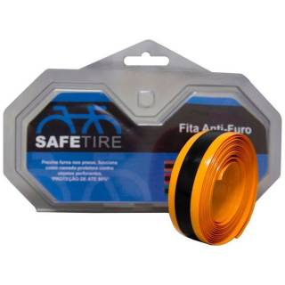 Fita Antifuros Safetire Speed 23mm Aro 700 - Laranja | BIKE ALLA CARTE