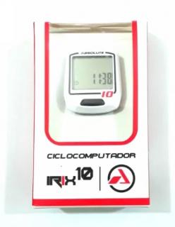 Ciclocomputador Absolute Irix 10 - Branco Com Fio | BIKE ALLA CARTE
