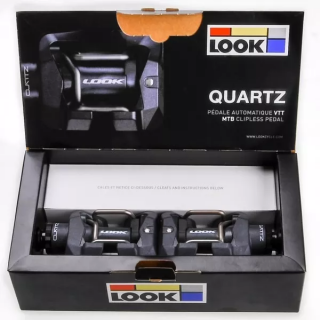 Pedal Look Quartz Mtb 2 - Cinza | BIKE ALLA CARTE