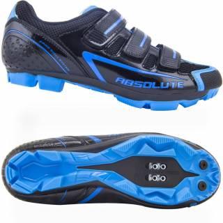 Sapatilha MTB Absolute Nero - Preto / Azul | BIKE ALLA CARTE