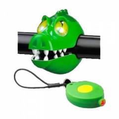 Kit Farol Lanterna CRAZY STUFF Crocodilo
