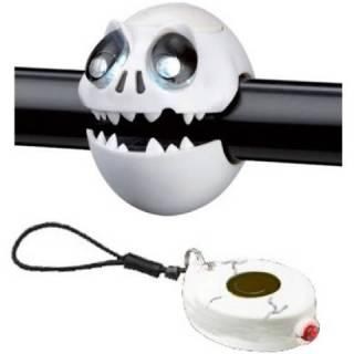 Kit Farol Lanterna CRAZY STUFF Caveira | BIKE ALLA CARTE