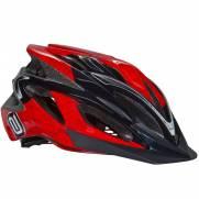 Capacete Asw Bike Ride Vermelho/Preto