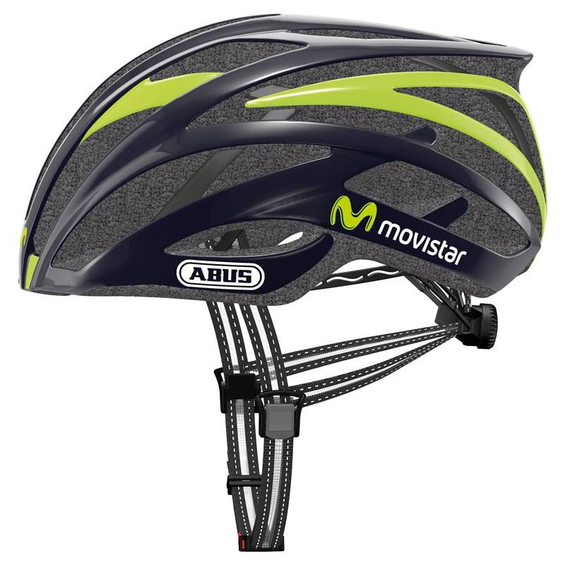 Capacete Abus Tec Tical 2.0 Movistar Team