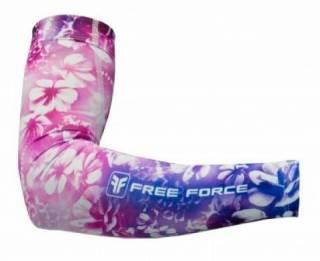 Manguito de Verão Free Force Flowers Rosa - Tam P, M e G | BIKE ALLA CARTE