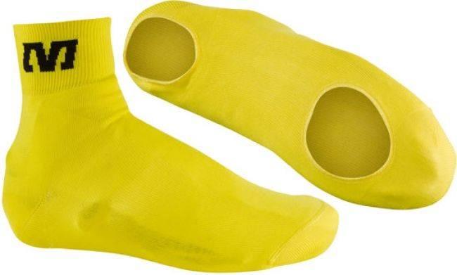 Capa para Sapatilha Mavic Knit Cover Amarela