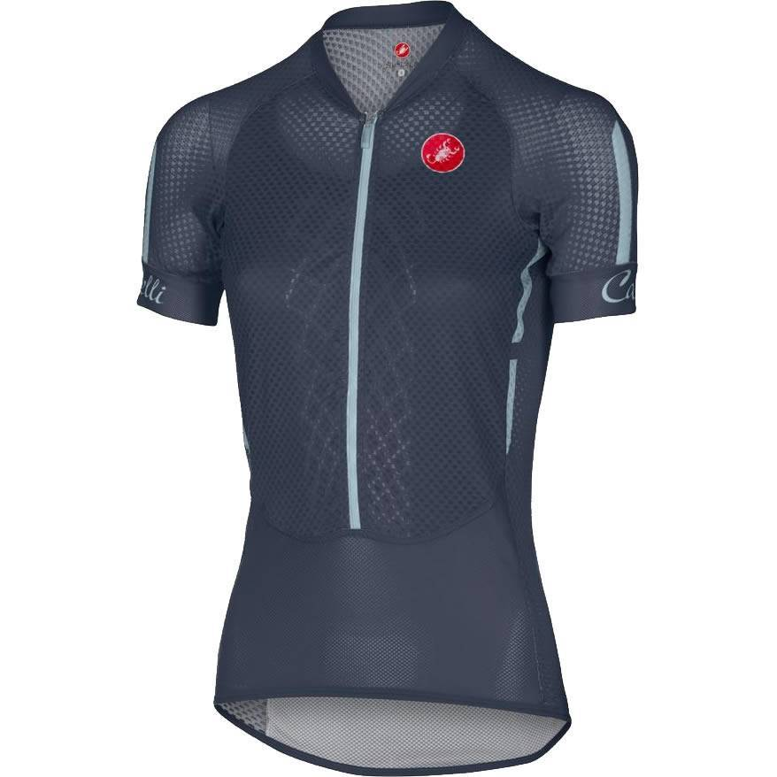 Camisa Castelli Feminina Climber Navy Azul - Tam M