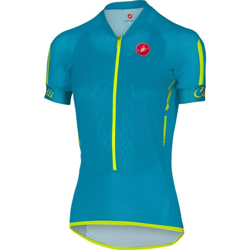 Camisa Castelli Feminina Climber Caribean Azul - Tam M e G