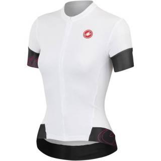 Camisa Castelli Feminina Fortuna FZ Branca - Tam P e M | BIKE ALLA CARTE